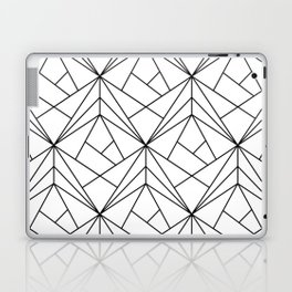 Black and White Geometric Pattern Laptop & iPad Skin