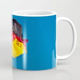 the flag of Germany Coffee Mug