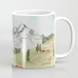 A Highland Village Coffee Mug
