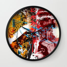 Exquisite Corpse: Round 5 Wall Clock