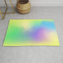 Blurred abstract design. Rug