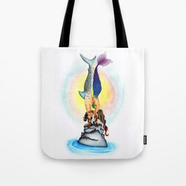 Yogi Kiss Tote Bag