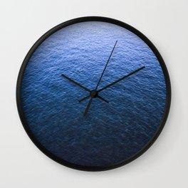 Blue Elbe Wall Clock