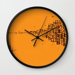 Swarm of B's Wall Clock