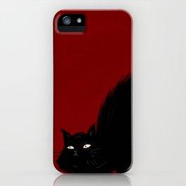 Mad Cat iPhone Case