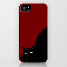 Mad Cat iPhone Case