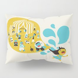 Zombie Carnival Pillow Sham