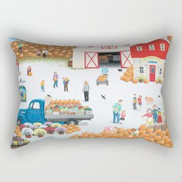 The Harvest Moon Rectangular Pillow