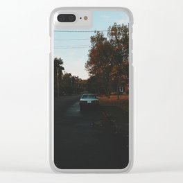 Oregon In The Fall Clear iPhone Case
