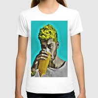 zayn malik T-shirts featuring Zayn Malik Pop Art by Indigo Blues