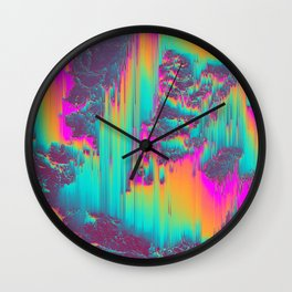 THERE'S NO LIE IN HER FIRE Wall Clock