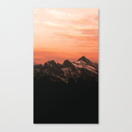 The Three Sisters Canvas Print