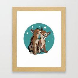 Kitty Kat Framed Art Print