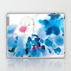 Into the deep blue night Laptop & iPad Skin