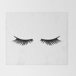 Lashes Throw Blanket
