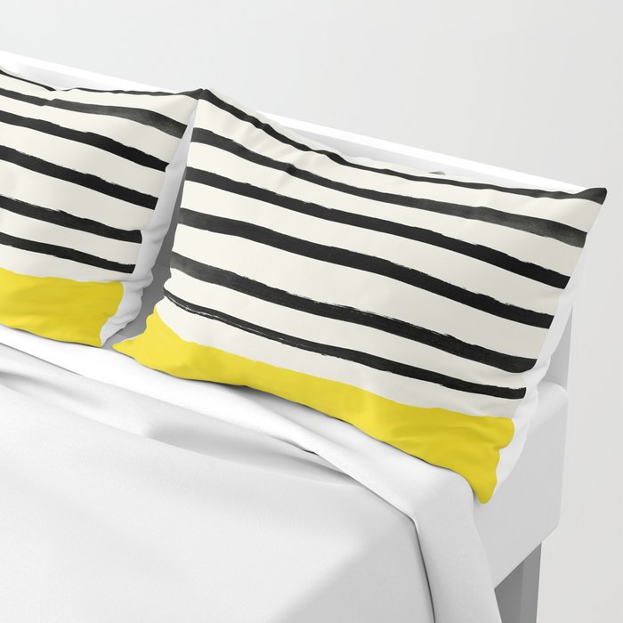 Sunshine x Stripes Pillow Sham
