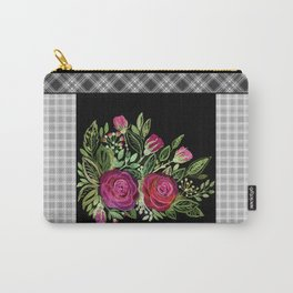Rustic patchwork 2 Carry-All Pouch