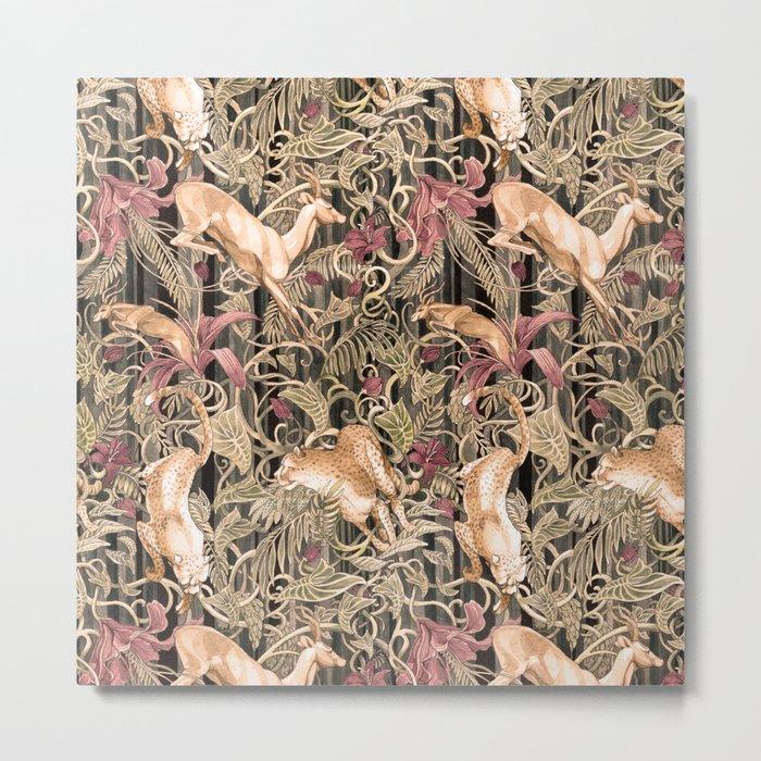 Wild life pattern Metal Print