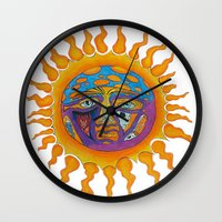 sublime Wall Clocks featuring Sublime  by Sammy Cee