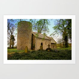 All Saints - Barmer 1/2 Art Print