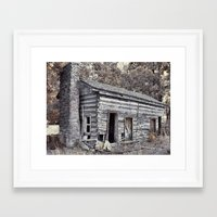 rustic Framed Art Prints featuring Rustic by Mike Griffiths