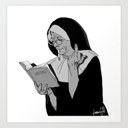 Blasphemy Art Print