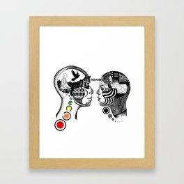 [lux aeterna] Framed Art Print