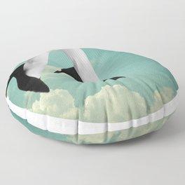 Flying High  Floor Pillow