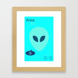 Area Five-One Framed Art Print