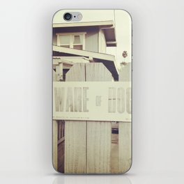 A Cautionary Tale iPhone Skin
