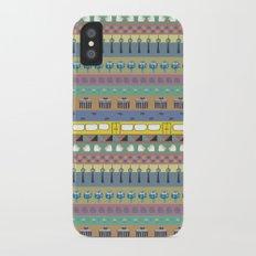 Berlin pattern Slim Case iPhone X
