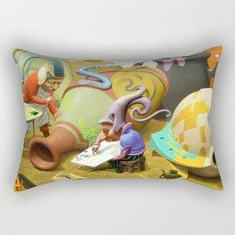 Jug painters Rectangular Pillow