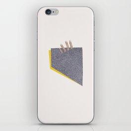 Quicksand iPhone Skin
