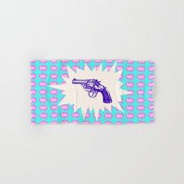 Purple Gun Hand & Bath Towel