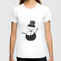 snowman T-shirts featuring Snowman by Teaspoon Of Me