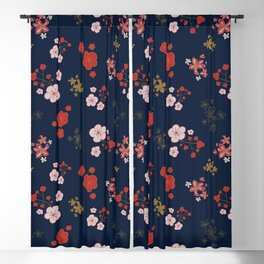 Blossom Confetti Blackout Curtain