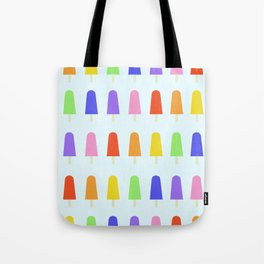 Rainbow popsicles Tote Bag