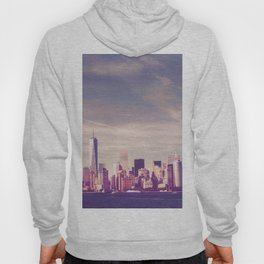 New York City Skyline Waterfront Hoody