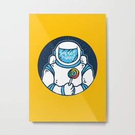 Space Candy Metal Print