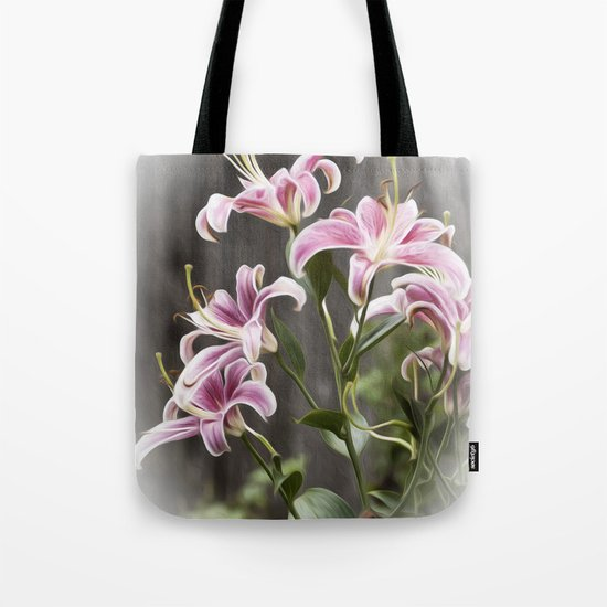 Dance of the Lilies Tote Bag
