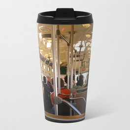 San Francisco Trolly Metal Travel Mug