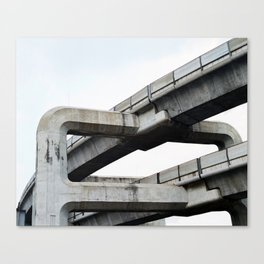 Concrete O1 Canvas Print