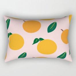 Oranges or Peaches? Rectangular Pillow