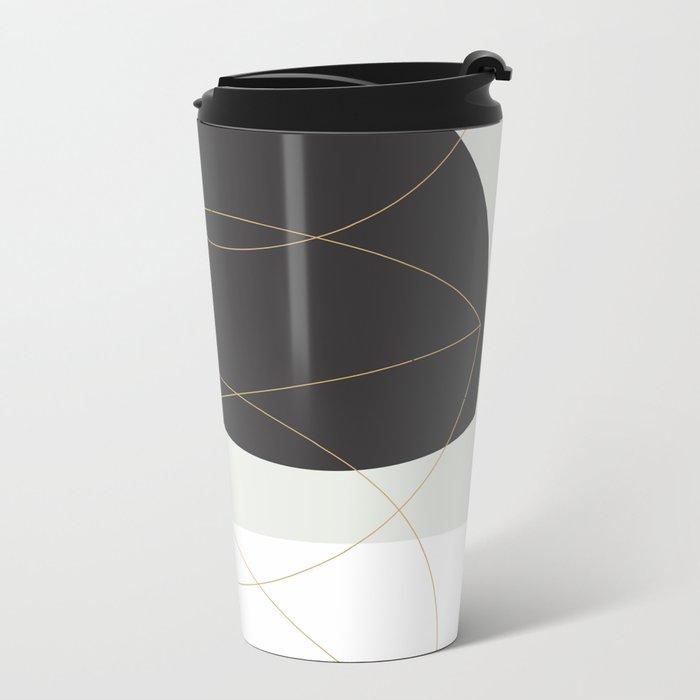 Shape and Form Metal Travel Mug