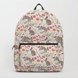 Bunny Meadow Pattern Backpack