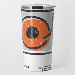 Long Play Graphic Travel Mug