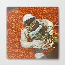 Into the beans Metal Print