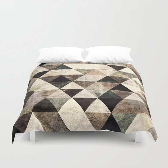 Abstract #365 Duvet Cover