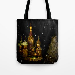 Moscow Night Tote Bag
