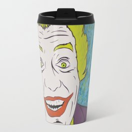 Vintage Joker Spray Painting Travel Mug